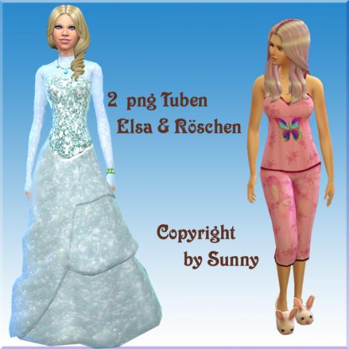 2 Stück Sims 4 Tuben