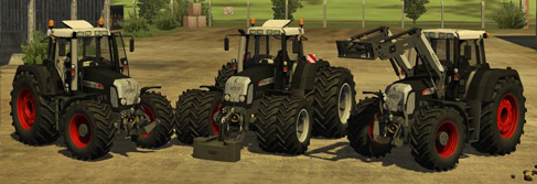 Fendt Vario 820 TMS Black Beauty Pack