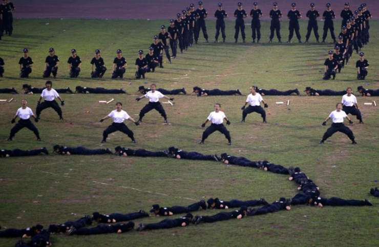 Chińskie służby pożądkowe 8
