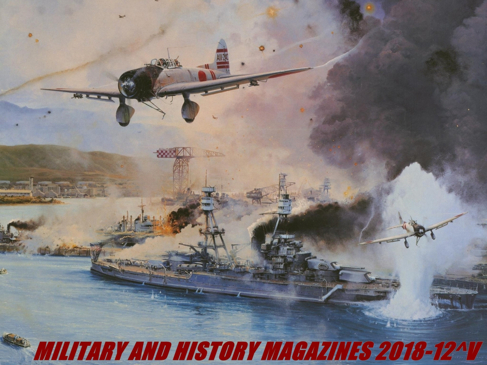 Military and History Magazines 2018-12