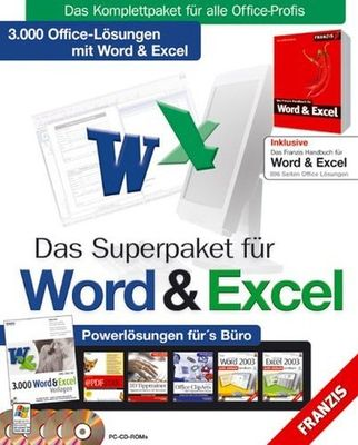 Franzis Das Superpaket für Word & Excel