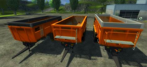 Pack 3 trailers Dezeure TT v 1.1
