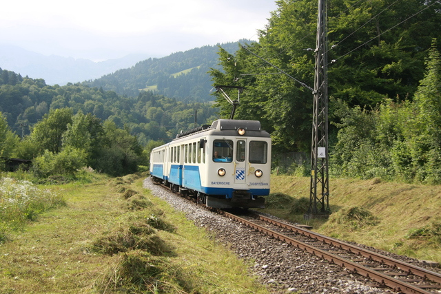 309 Einfahrt Garmisch-Partenkichen