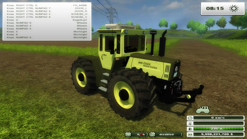 MBtrac 1600turbo v 1.0