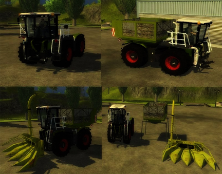 Xerion S Trac Maize Pack v 1.0
