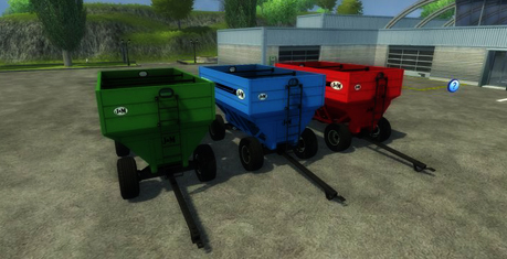 J&M 680SD Gravity Wagons v 1.0