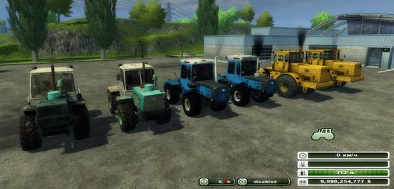 Kirovets & T-150 AgroPack v3.1