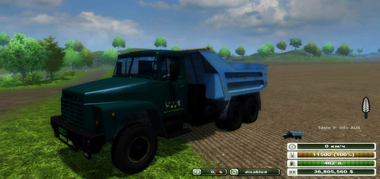 KrAZ 250 Multifruit v 2.0