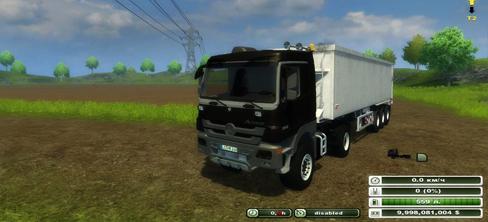 MB Actros 2048 Black V 3.0 (MoreRealistic)