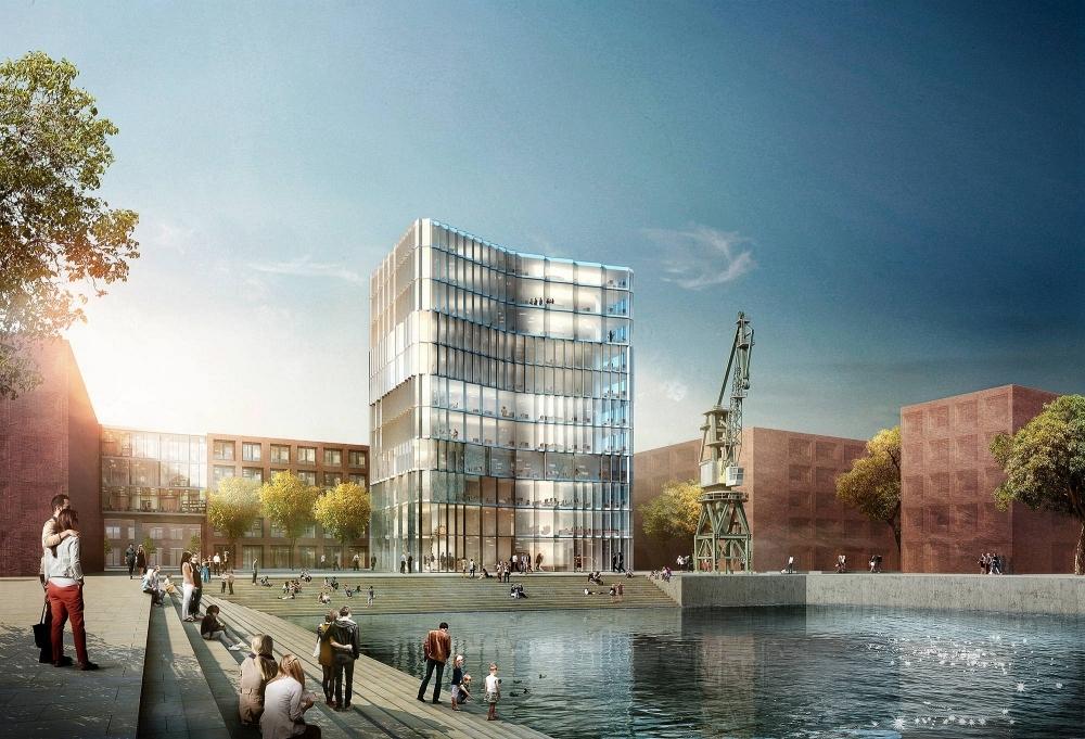 mainz zollhafen neues stadtquartier in bau seite 5. Black Bedroom Furniture Sets. Home Design Ideas