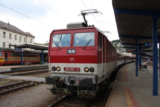 362 001-0 Bratislava Hlavná Stanica