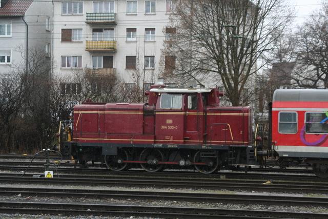 364 533-0 Ulm Hbf