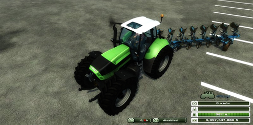 Lemken Jewel 8 Furrow Plow Pack v1.0