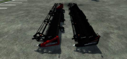Macdon & Case 2140 Draper Header v 1.0