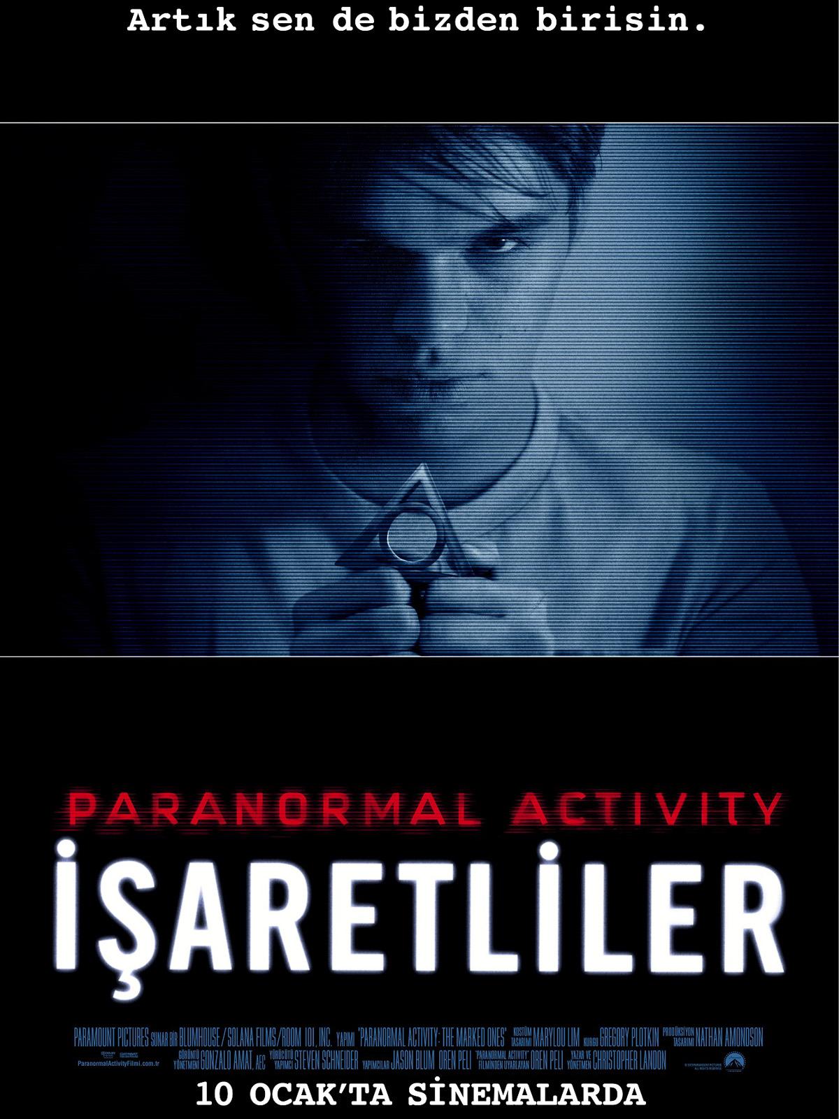 Paranormal Activity : İşaretliler Türkçe Dublaj indir | 2014