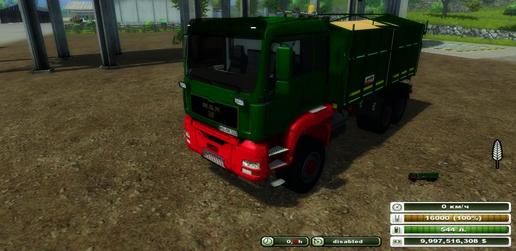 MAN Agroliner 3 axis v 1.0