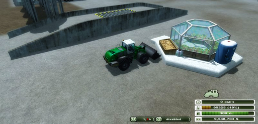 Strawberries greenhouse v 1.0 Placeable