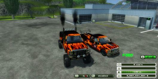Ford f-350 Monster v 1.0
