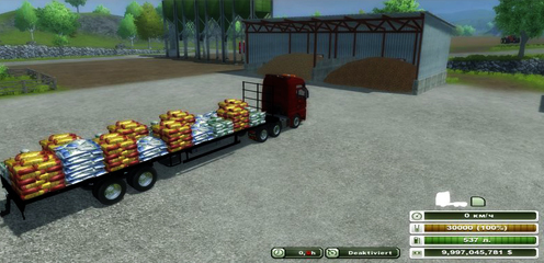 Flatebed Refillable Seed Trailer v 1.0