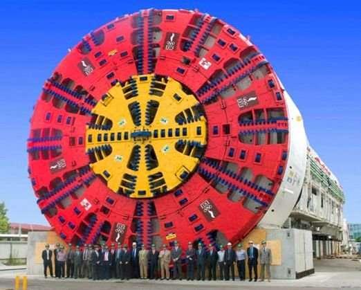 TBM - maszyny-krety drążące tunele 1