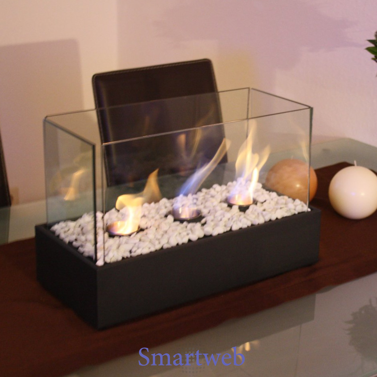 b ware bio ethanol kamin tischkamin gelkamin tischfeuer tischdeko geschenkidee ebay. Black Bedroom Furniture Sets. Home Design Ideas