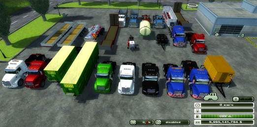 Mack Palfinger Transport Pack v 1.0