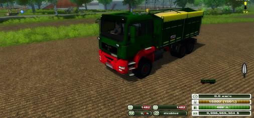 MAN Agroliner 3 axis v 2.0 ( MoreRealistic)