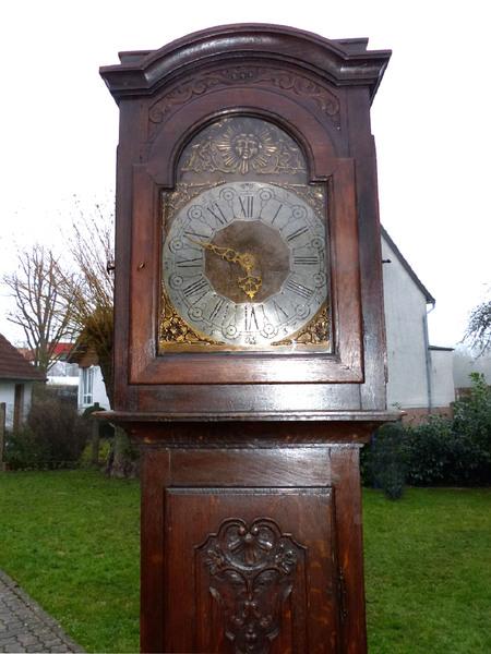 top barock standuhr antik wien 1780 longcase clock pendule uhrwerk pendeluhr uhr ebay. Black Bedroom Furniture Sets. Home Design Ideas