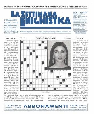La Settimana Enigmistica N. 4369 - 17.12.2015