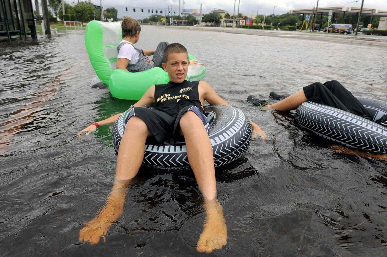 Powódź z dystansem 40