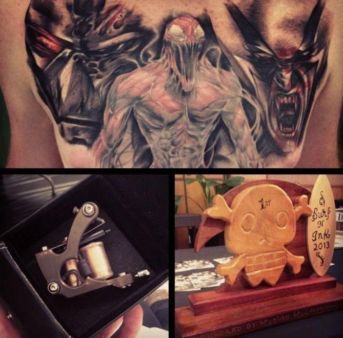 Artystyczne tatuaże 55
