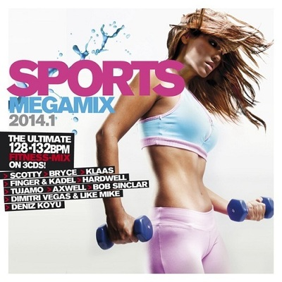 VA - Sports Megamix 2014.1 [3CD] (2014) .mp3 - V0