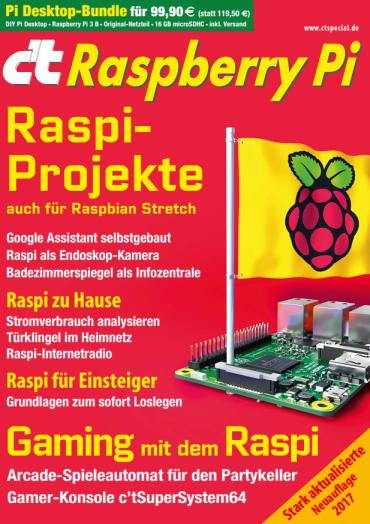 :  ct Sonderheft Raspberry Pi 2017
