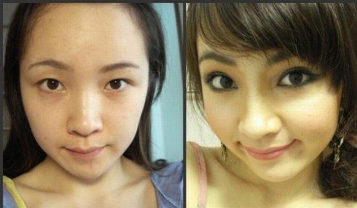 Azjatki bez makijażu 7