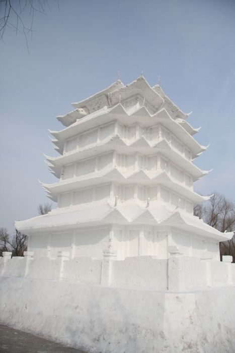 Rzeźby ze śniegu 9