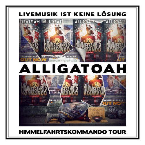 Cover: Alligatoah - Livemusik Ist Keine Lösung (2016)