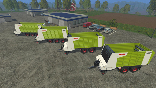 Claas Cargos Pack v1.0