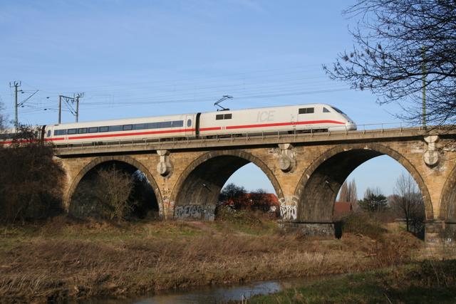 401 057-5 Landshut Hildesheim Innerstebrücke