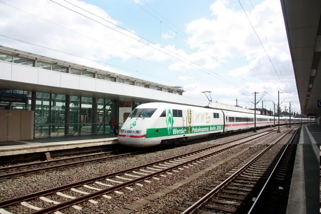 401 070-8 SZ2761 Werda Pokal Express Hannover Hbf