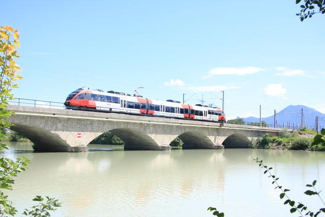 4023 005-5 Freilassing Saalach-Brücke