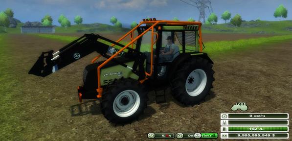 Valtra 6800 FL Forestry v 1.0