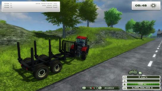 Forestry trailer v 1.0