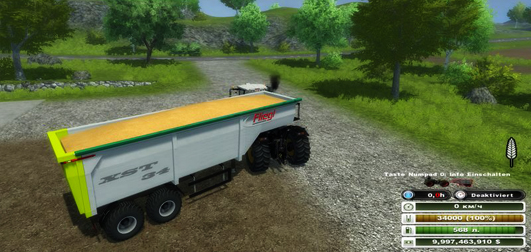 Fliegl semitrailer v 1.0 Beta