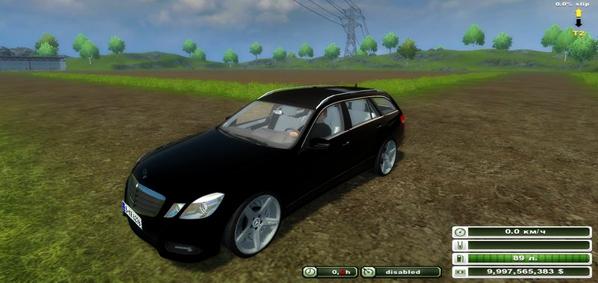 Mercedes Benz E class v 2.2 (MoreRealistic)