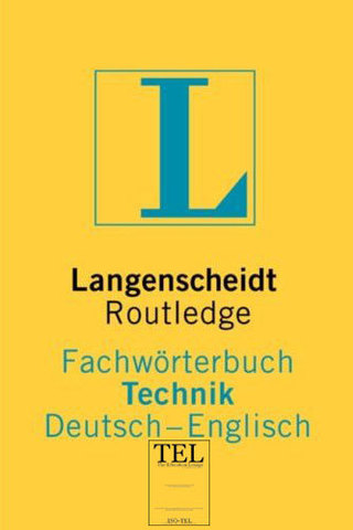 : Langenscheidt ProfiLine Routledge Fachwörterbuch Technik Englisch - Deutsch