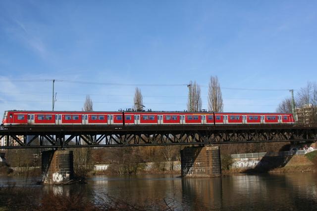420 372-5 Essen Steele Ruhrbrücke