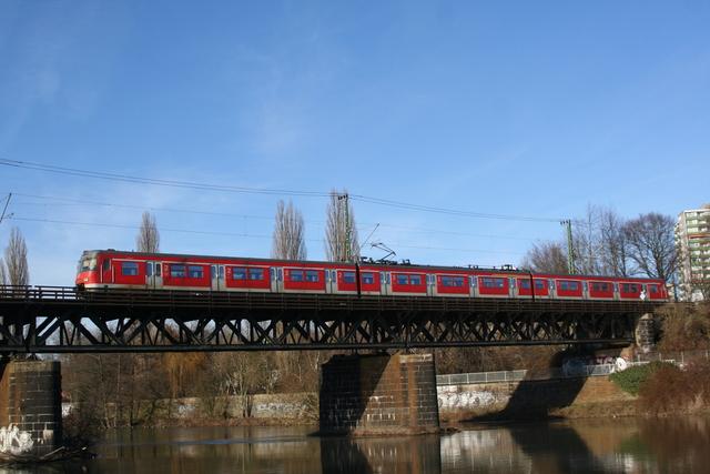420 365-1 Essen Steele Ruhrbrücke