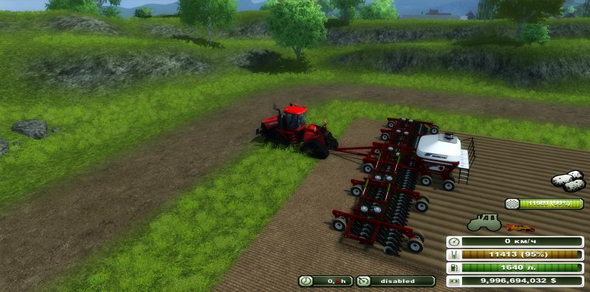 Bourgault seeding v 1.0