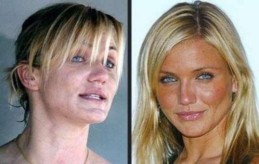 Gwiazdy showbiznesu bez makijażu 1