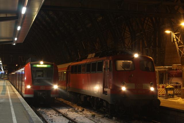 425 318-3 + 110 454-6 Bremen Hbf